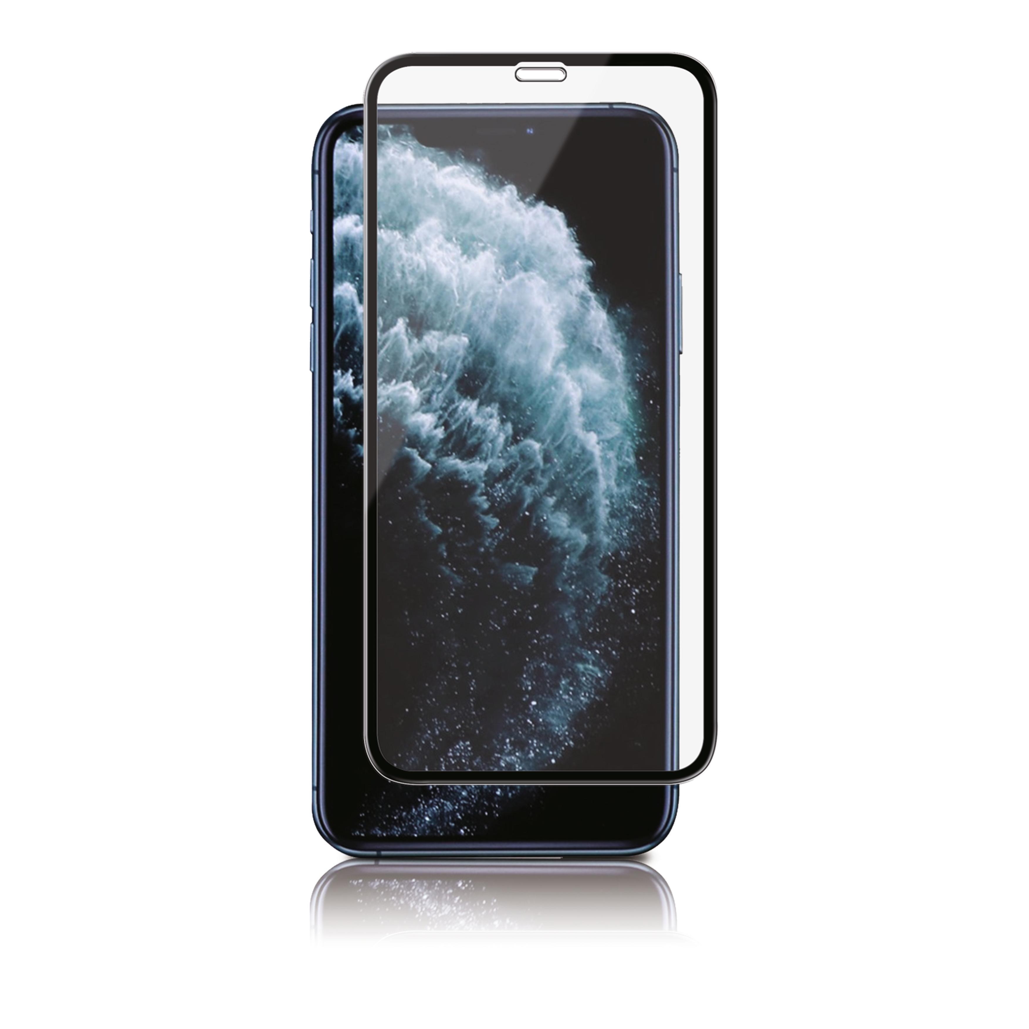 Full-Fit Glass iPhone 11 Pro/XS/X Black