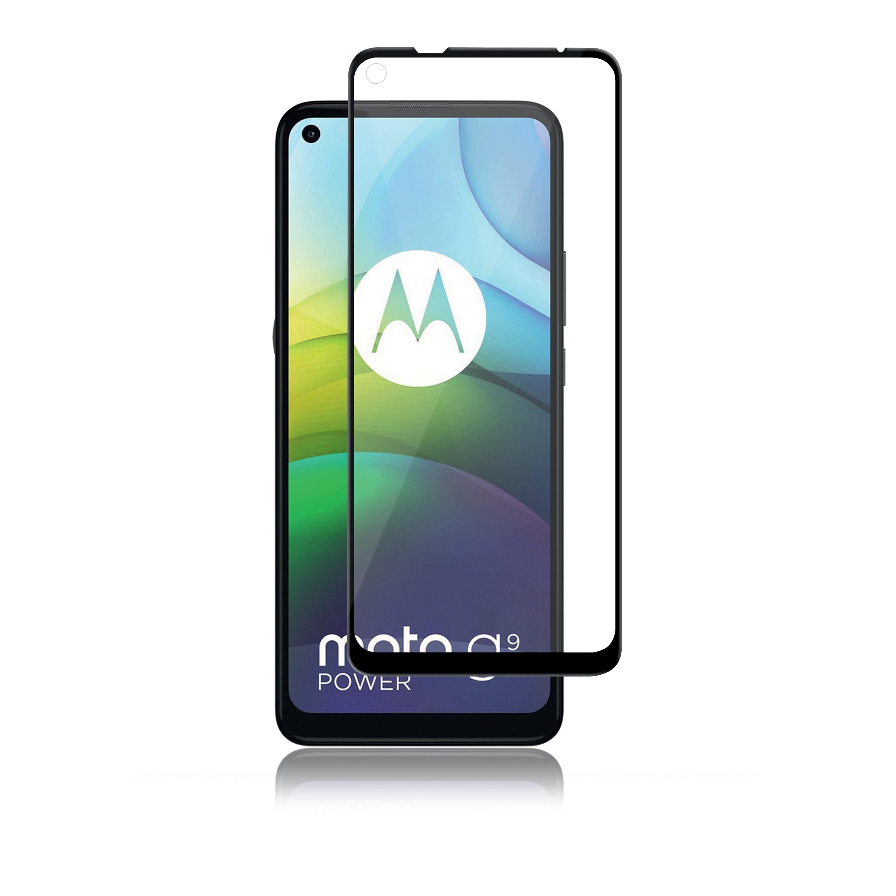 Full-Fit Glass Motorola Moto G9 Power Black