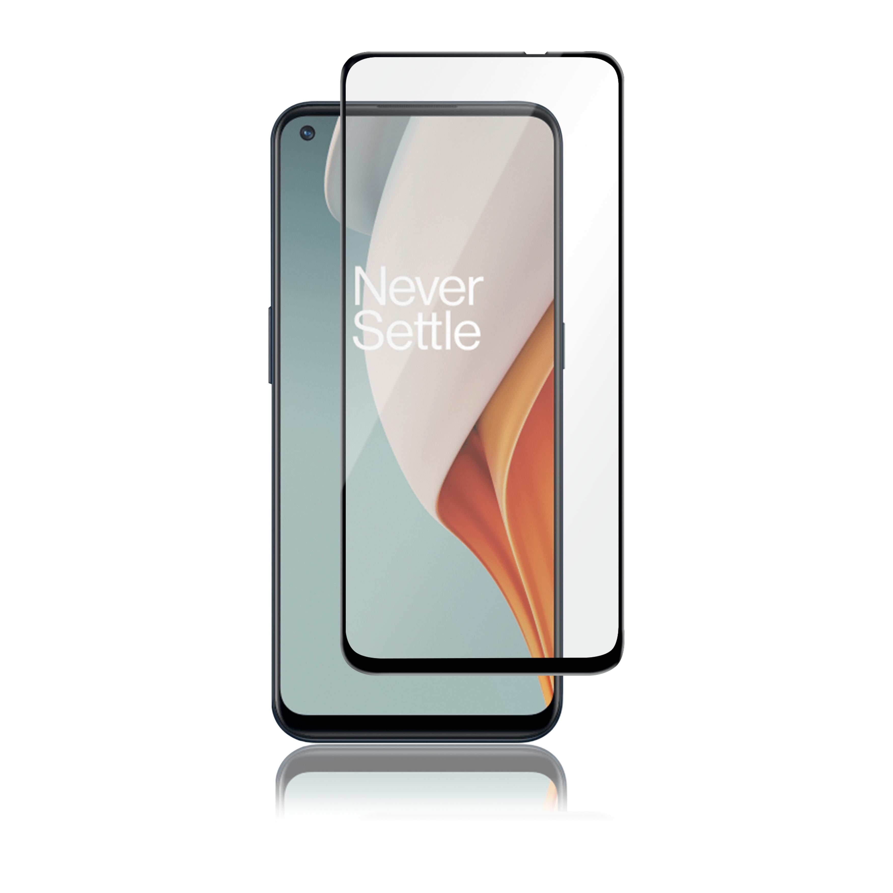 Full-Fit Glass OnePlus Nord N100 Black