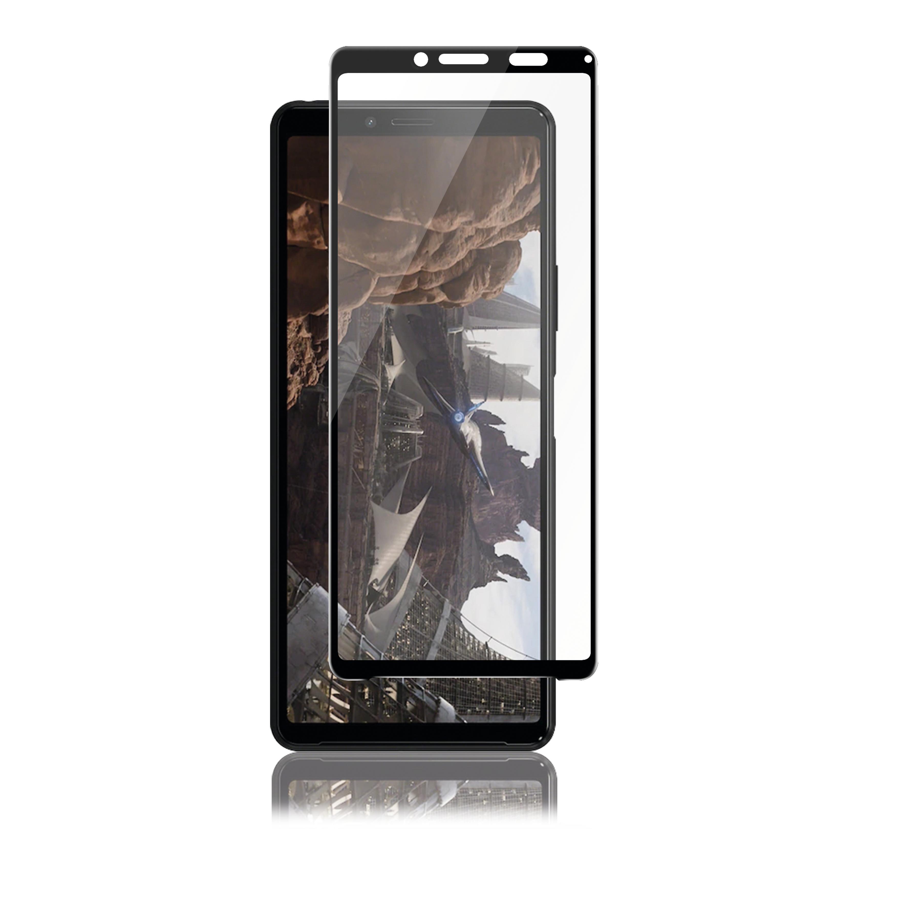 Full-Fit Glass Sony Xperia 10 II Black