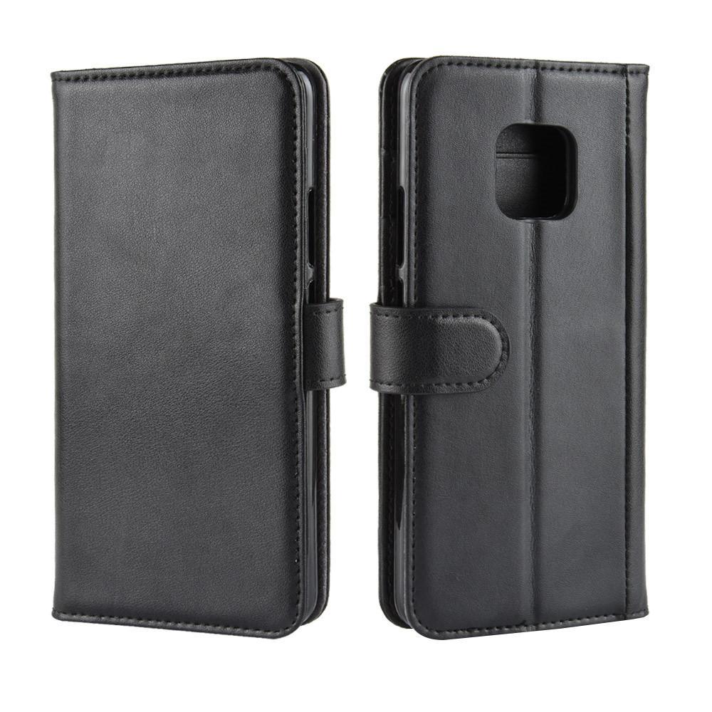 Ekte Lærveske Huawei Mate 20 Pro svart