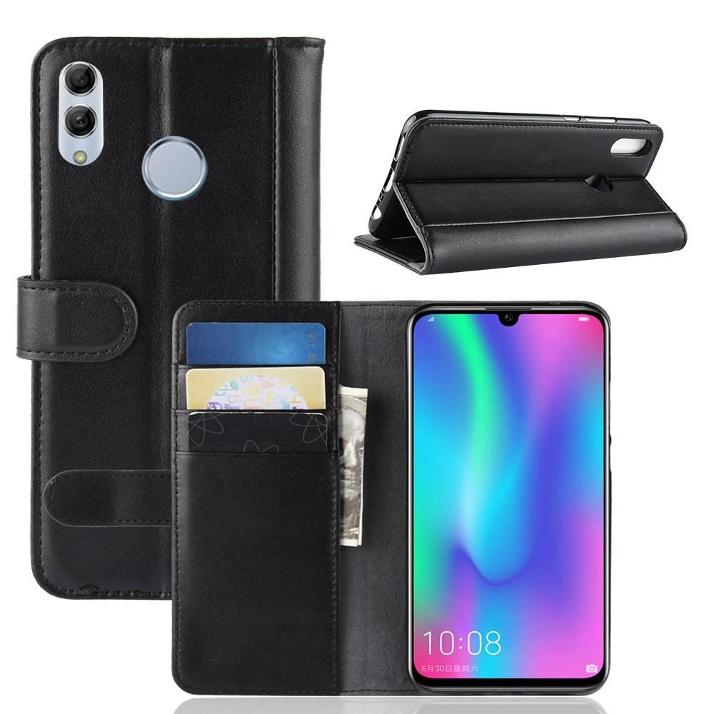 Ekte Lærveske Huawei P Smart 2019 svart