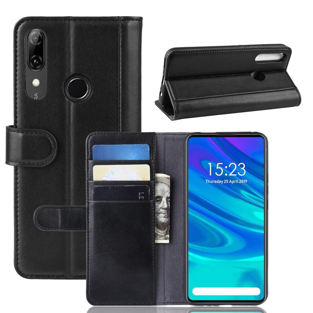 Ekte Lærveske Huawei P Smart Z svart