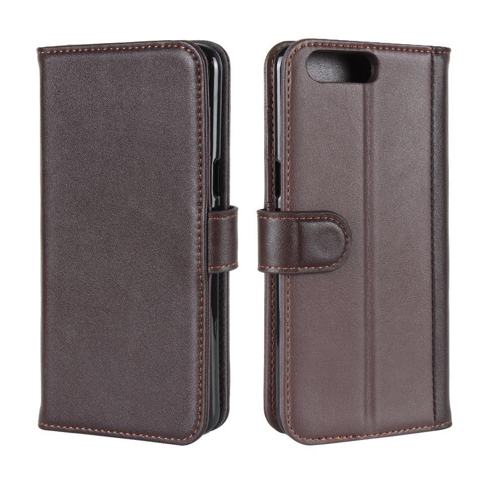 Ekte Lærveske OnePlus 5 brun