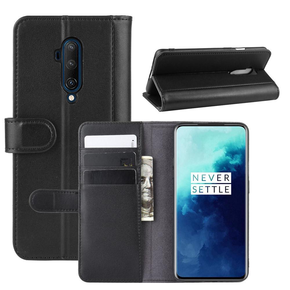Ekte Lærveske OnePlus 7T Pro svart