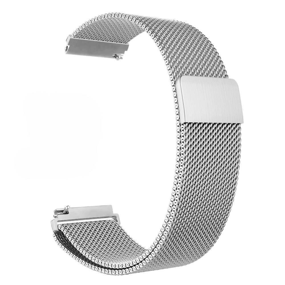 Armbånd Milanese Huawei Watch GT sølv