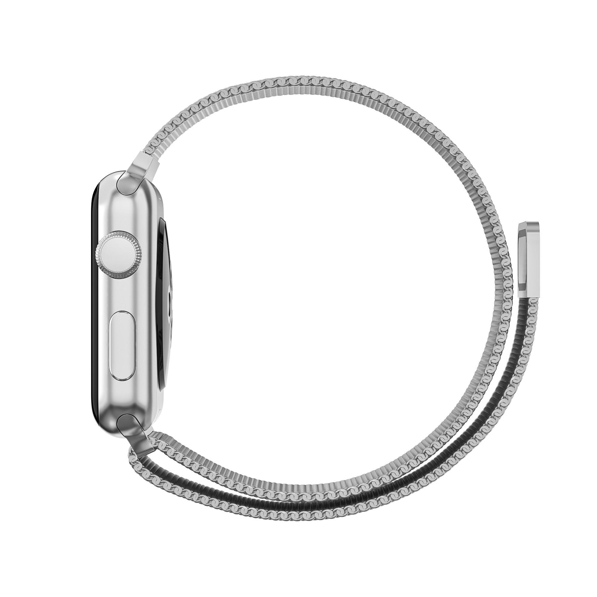 Armbånd Milanese Loop Apple Watch 38/40/41 mm sølv