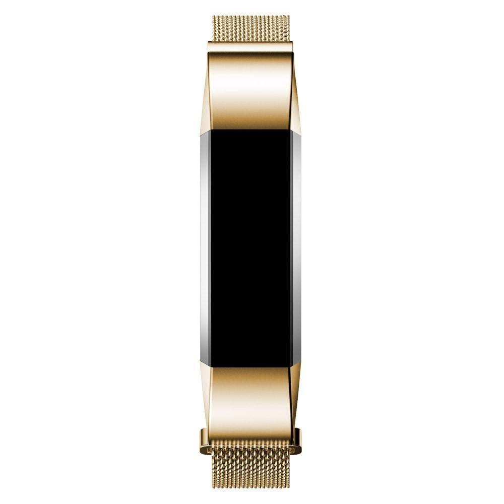 Armbånd Milanese Loop Fitbit Alta/Alta HR gull
