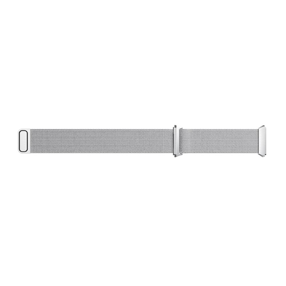 Armbånd Milanese Loop Fitbit Ionic sølv