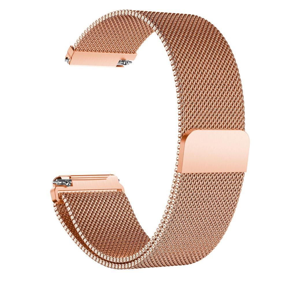 Armbånd Milanese Loop Fitbit Versa/Versa 2 rosegull