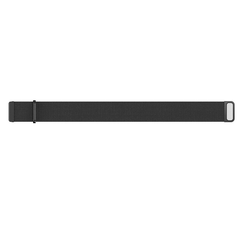 Armbånd Milanese Loop Fitbit Versa/Versa 2 svart