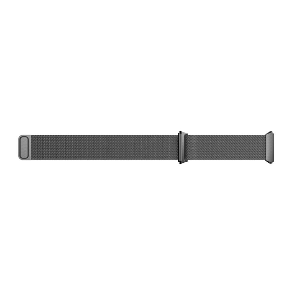 Armbånd Milanese Loop Fitbit Ionic svart