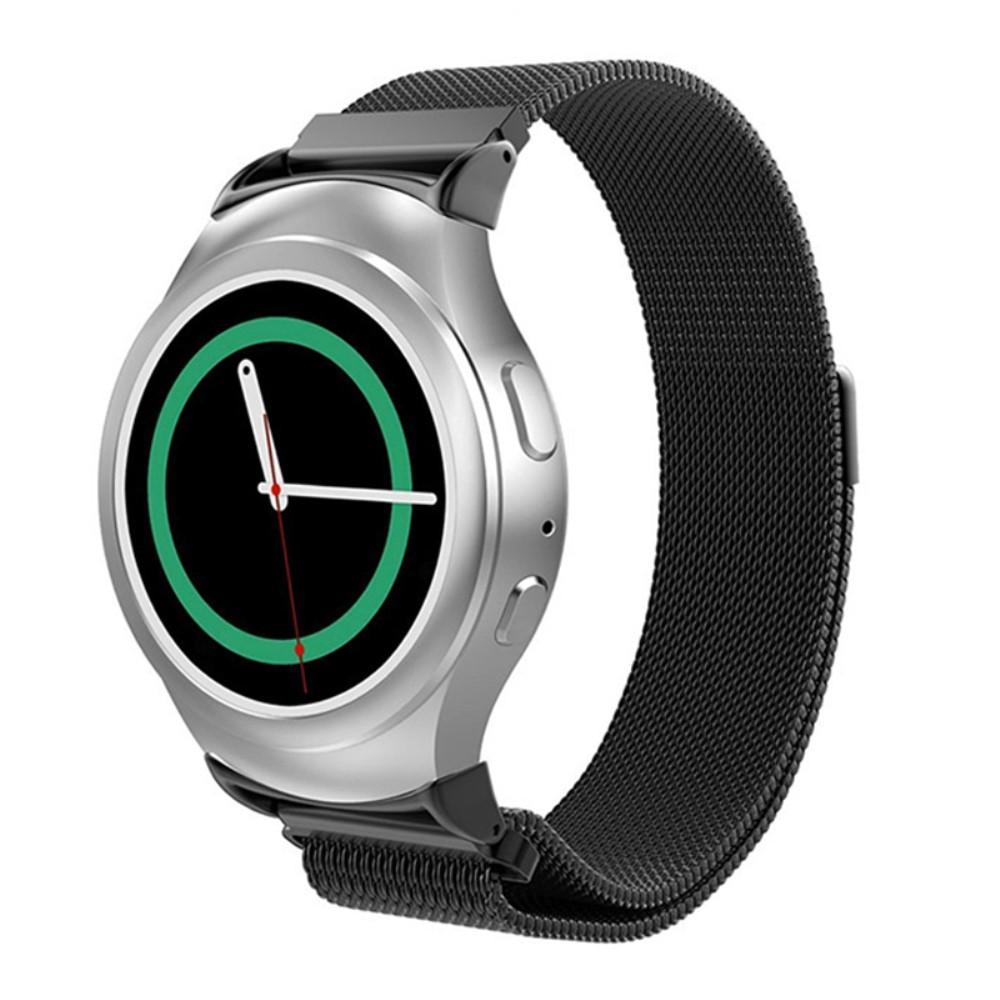 Armbånd Milanese Loop Samsung Gear S2 svart