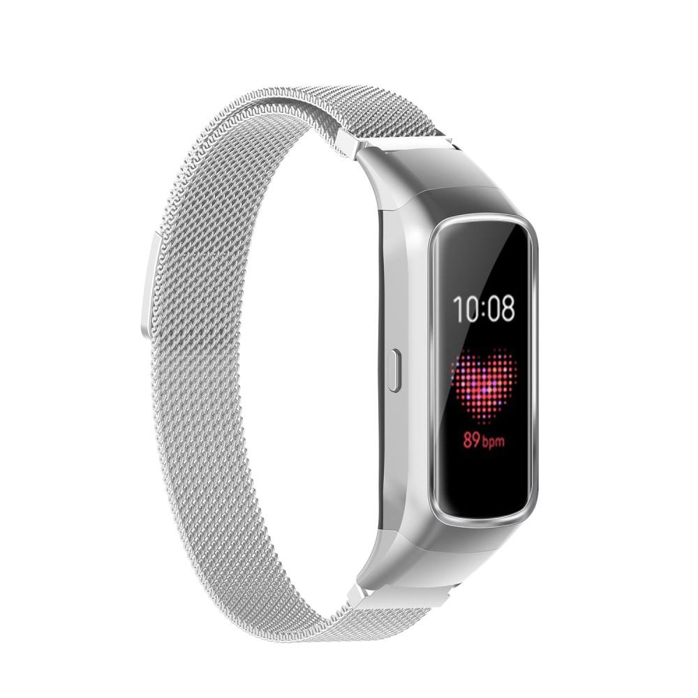 Armbånd Milanese Samsung Galaxy Fit sølv