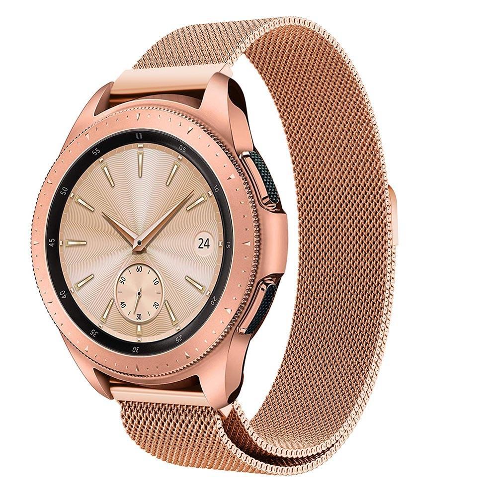 Armbånd Milanese Samsung Galaxy Watch 42mm rosegull
