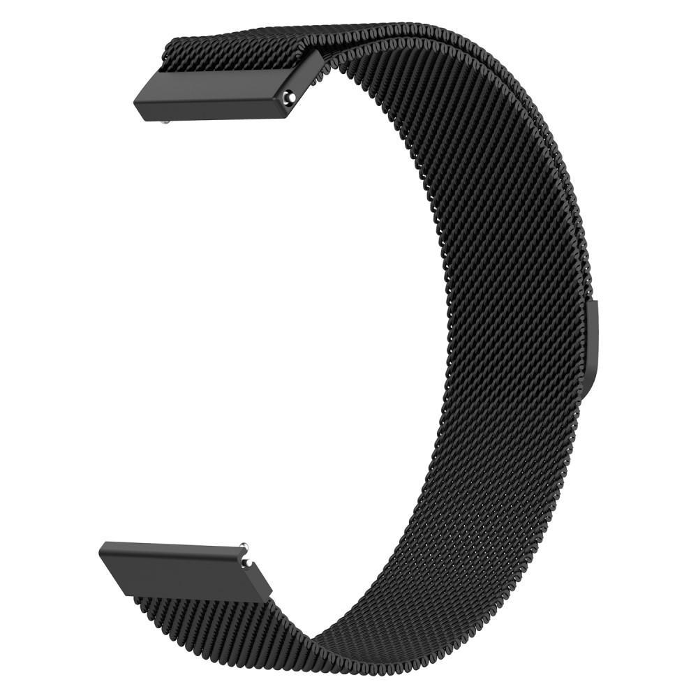 Armbånd Milanese Samsung Galaxy Watch 42mm svart
