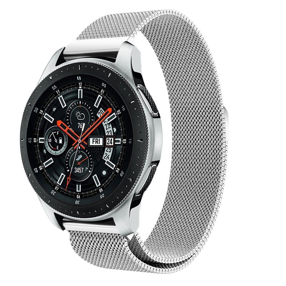 Armbånd Milanese Samsung Galaxy Watch 46mm sølv