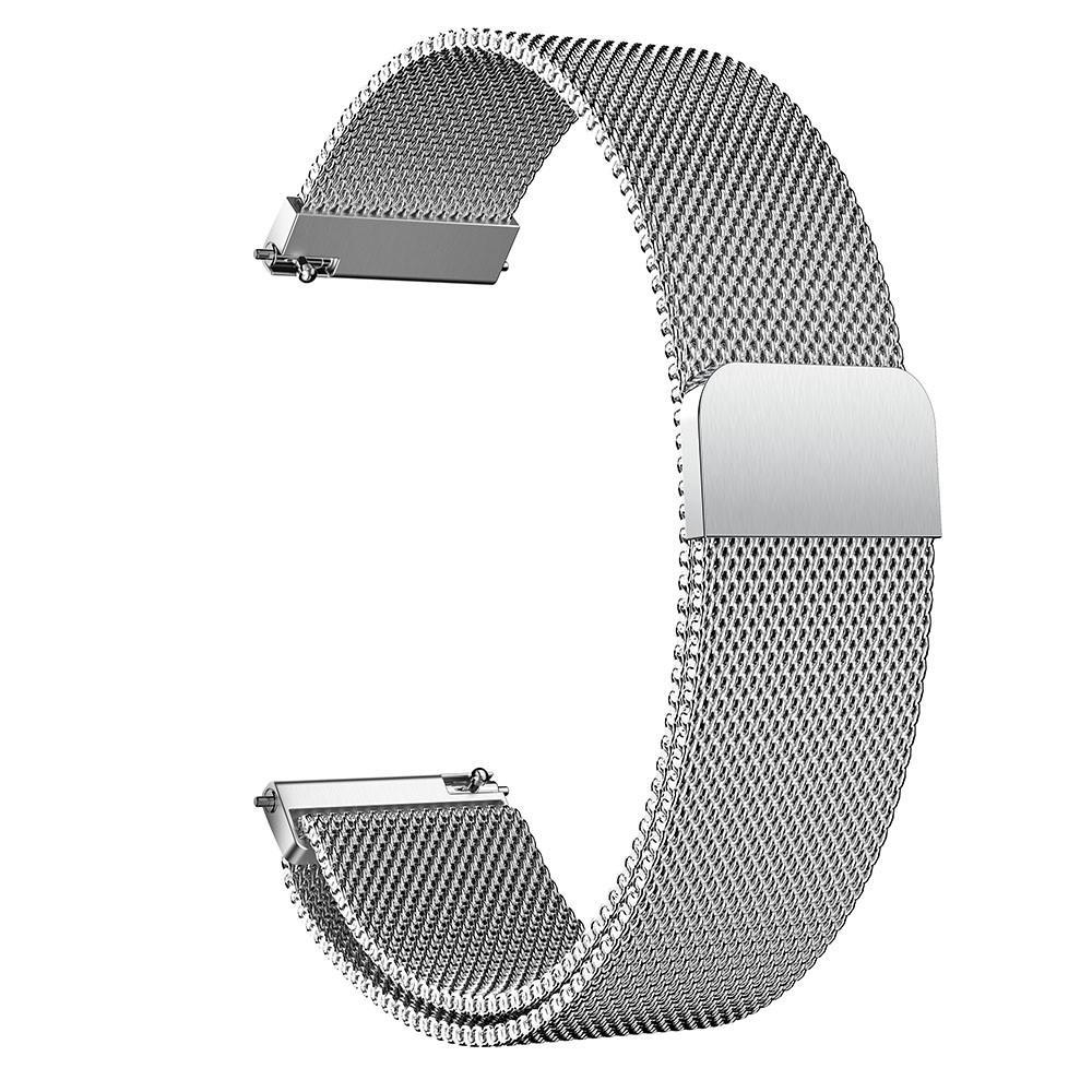 Armbånd Milanese Samsung Galaxy Watch Active sølv