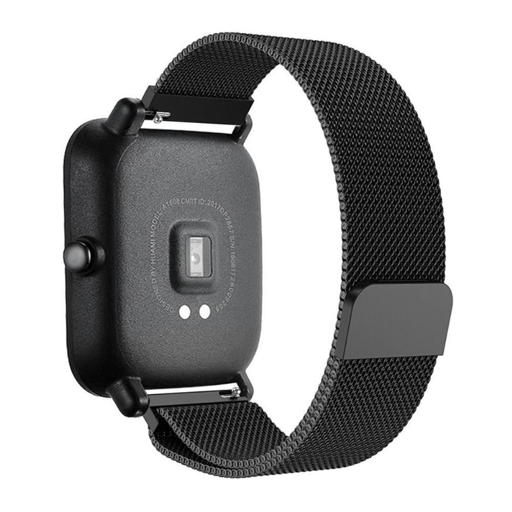 Armbånd Milanese Xiaomi Amazfit Bip svart
