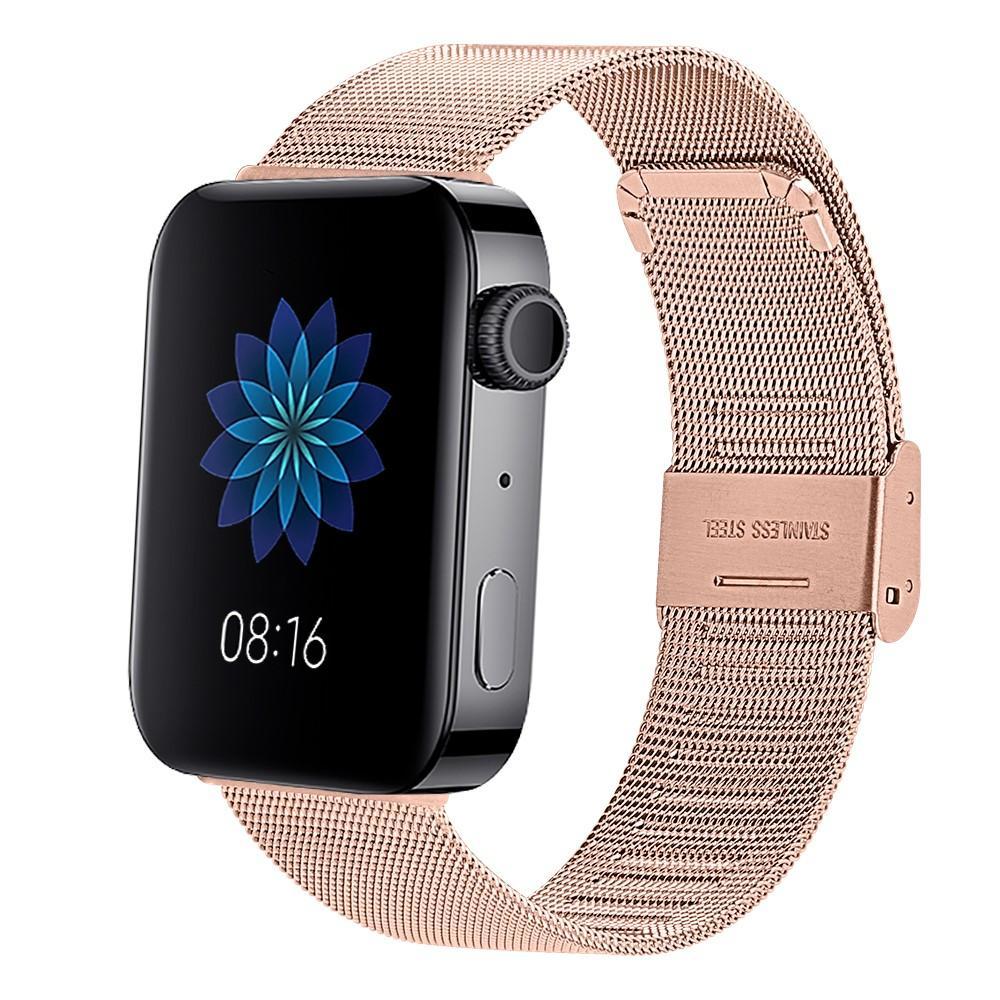 Mesh Bracelet Xiaomi Mi Watch Rose gold
