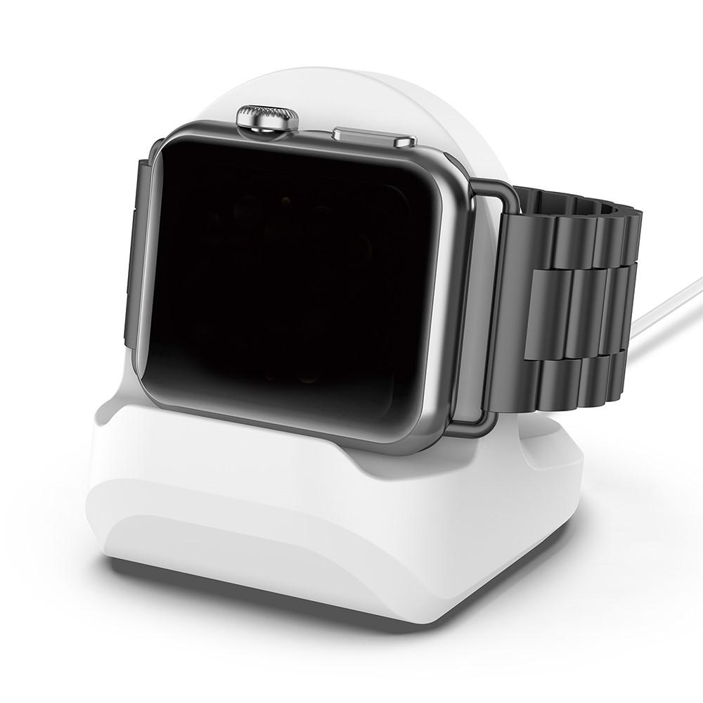 Bordstativ Apple Watch hvit
