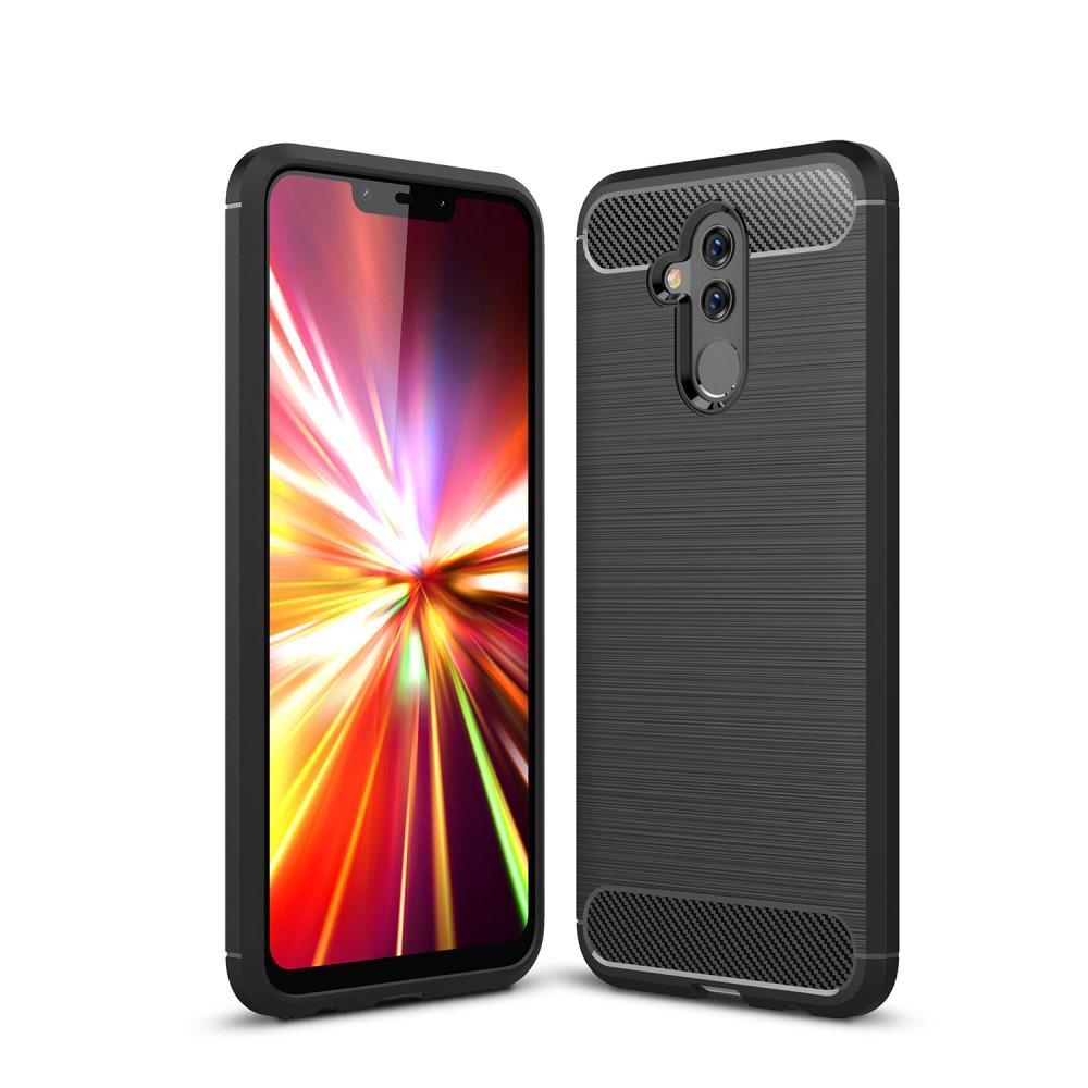 Brushed TPU Deksel Huawei Mate 20 Lite black