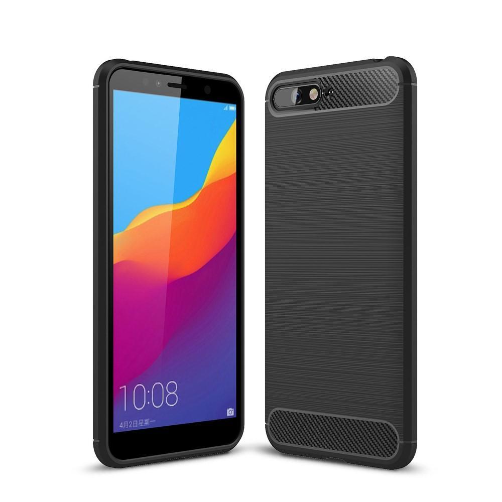 Brushed TPU Deksel Huawei Y6 2018 black