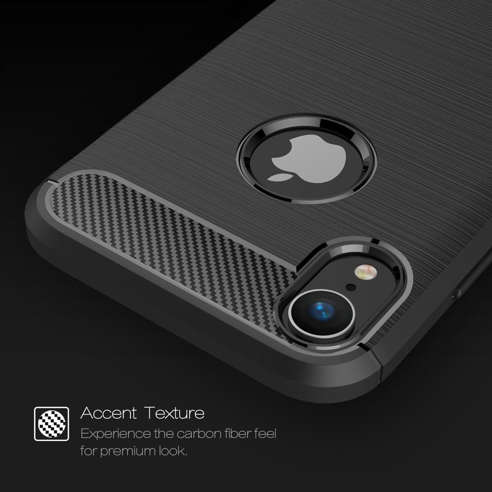 Brushed TPU Deksel iPhone XR black
