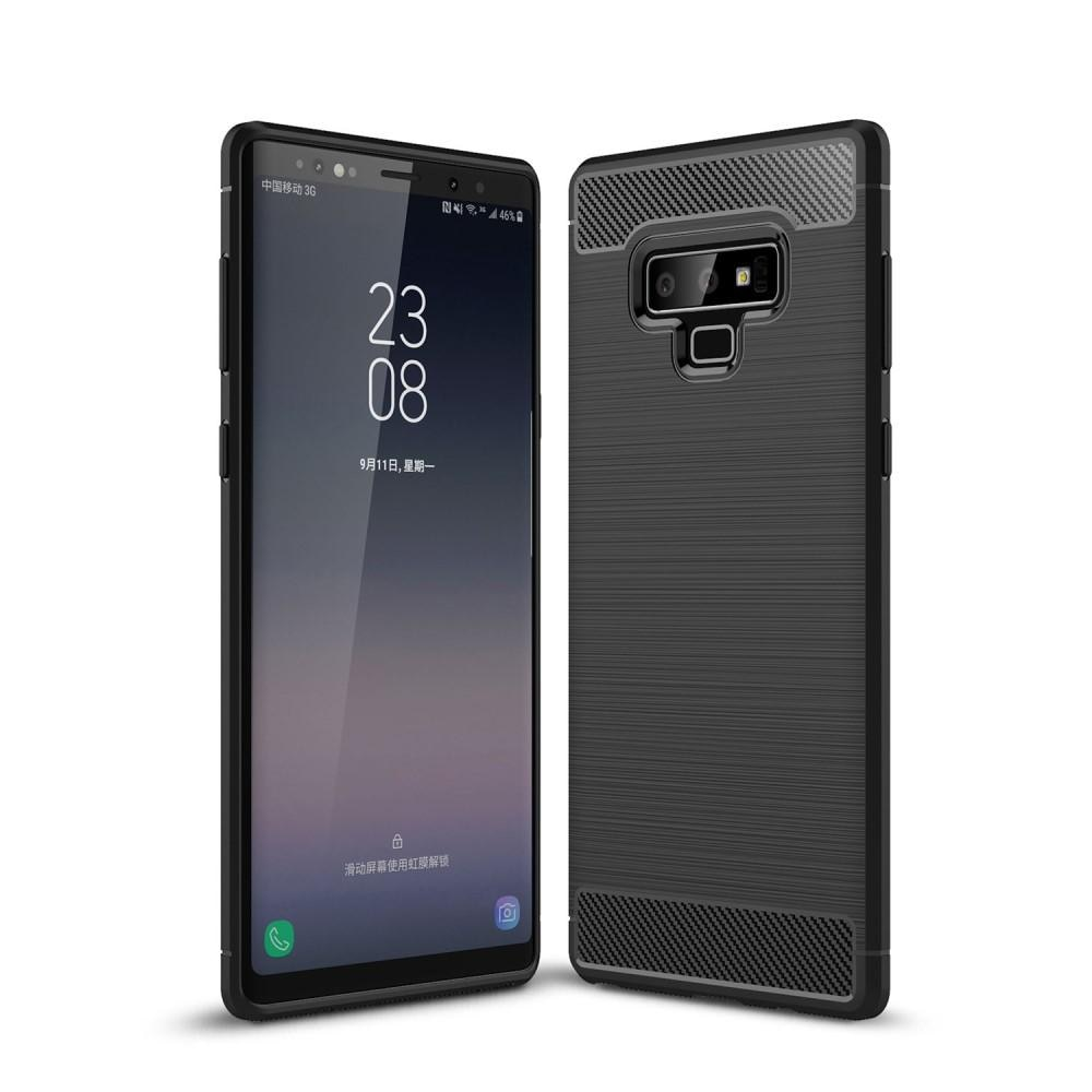 Brushed TPU Deksel Samsung Galaxy Note 9 black