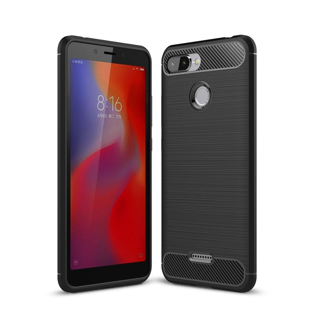 Brushed TPU Deksel Xiaomi Redmi 6 black