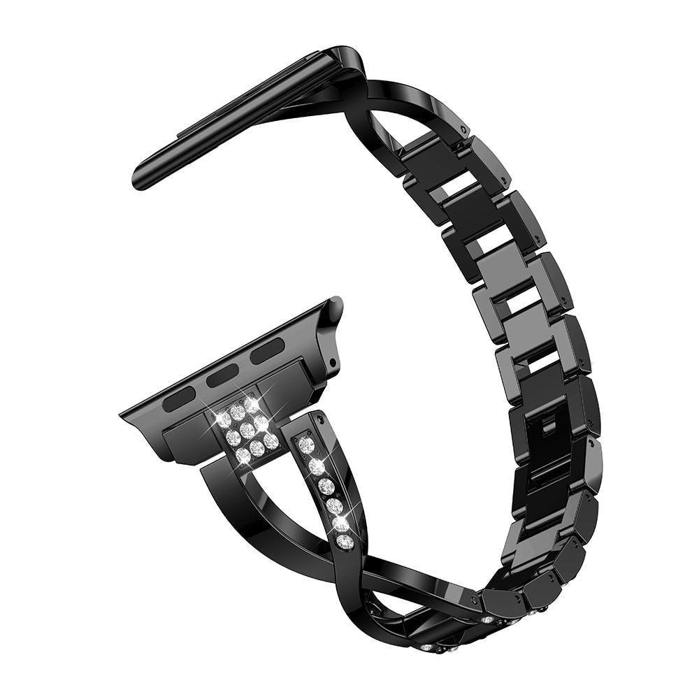 Crystal Bracelet Apple Watch 38/40/41 mm Black