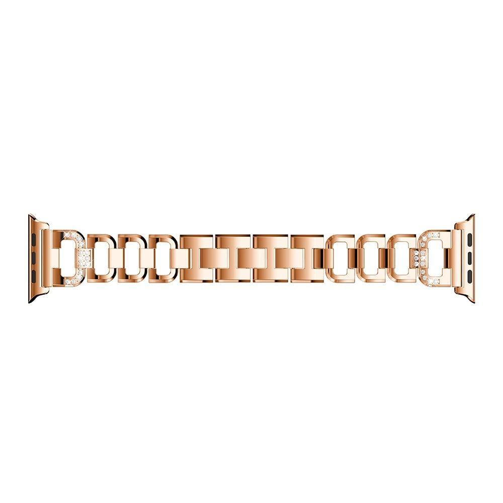 Rhinestone Bracelet Apple Watch 38/40/41 mm Rose Gold