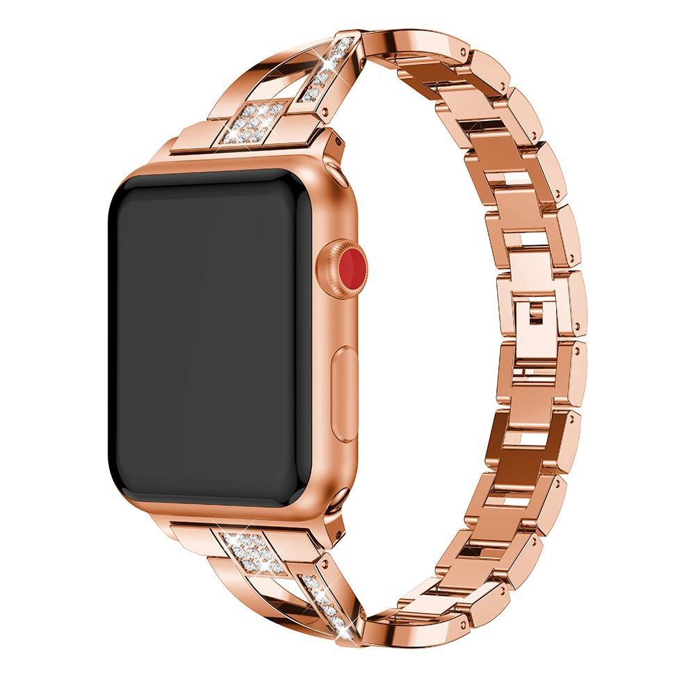 Crystal Bracelet Apple Watch 38/40 mm Rose Gold