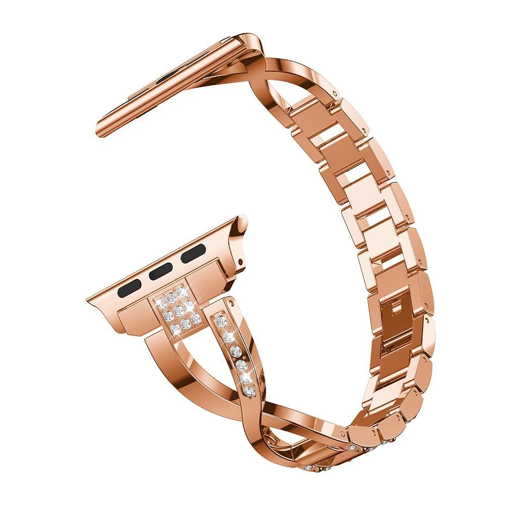 Crystal Bracelet Apple Watch 38/40/41 mm Rose Gold