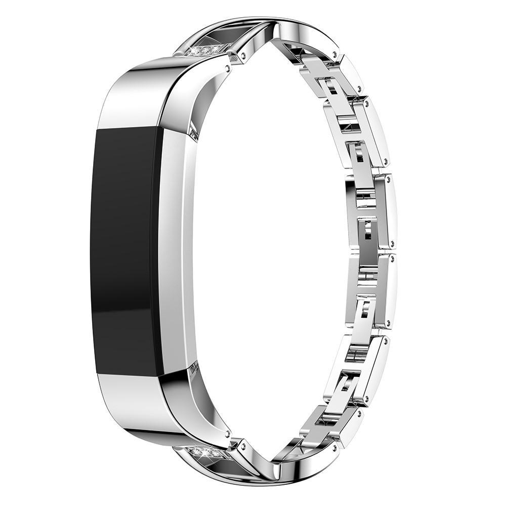 Crystal Bracelet Fitbit Alta/Alta HR Silver