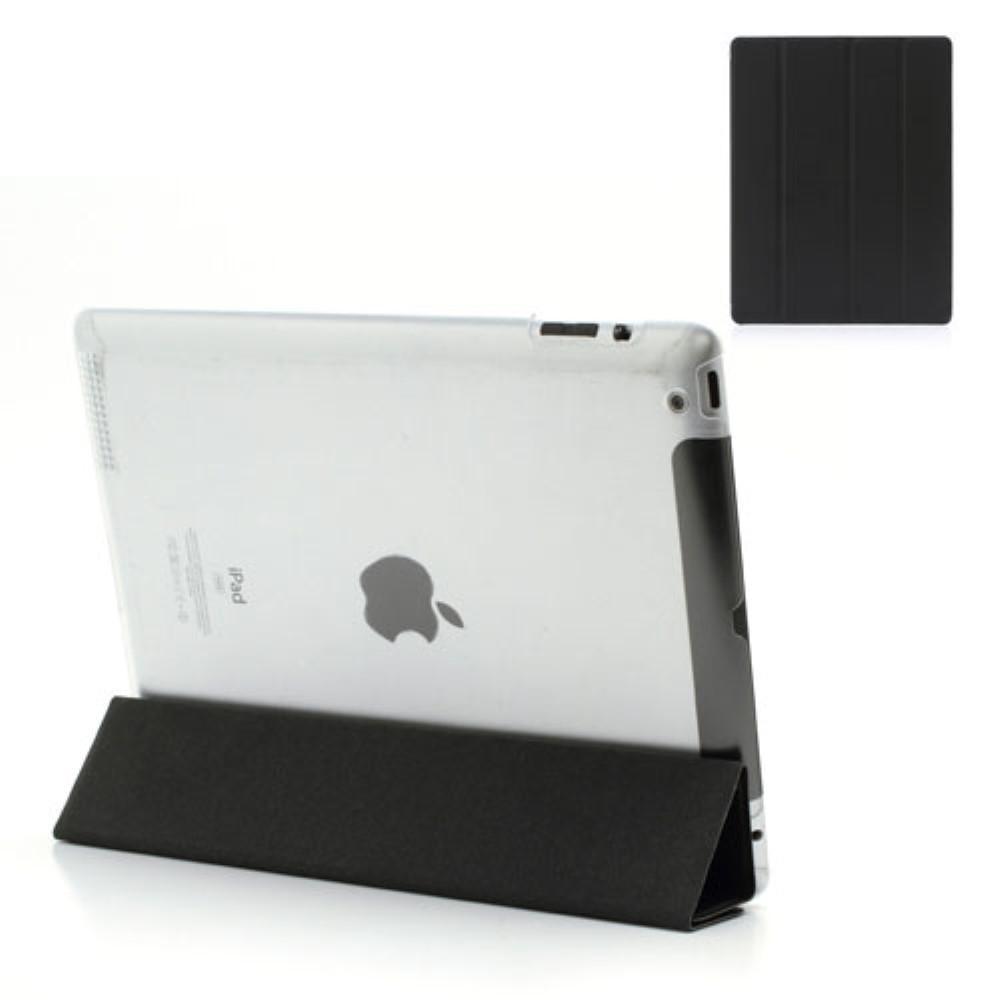 Etui Tri-fold Apple iPad 2/3/4 svart