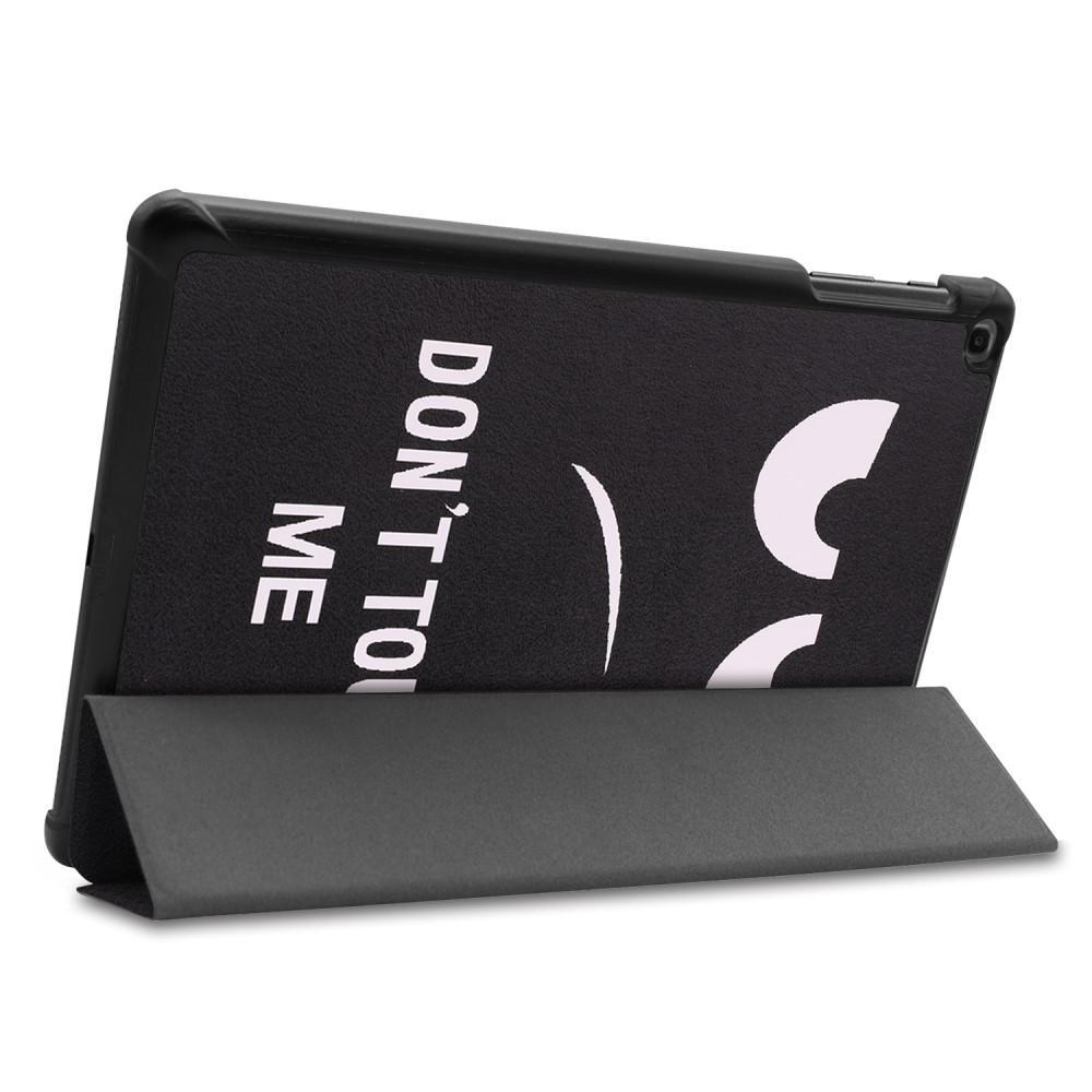 Etui Tri-fold Galaxy Tab A 10.1 2019 - Don't Touch Me