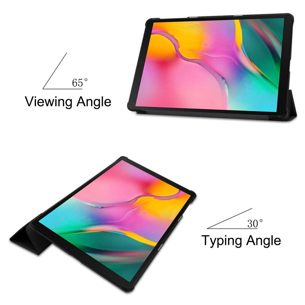 Etui Tri-fold Samsung Galaxy Tab A 10.1 2019 svart
