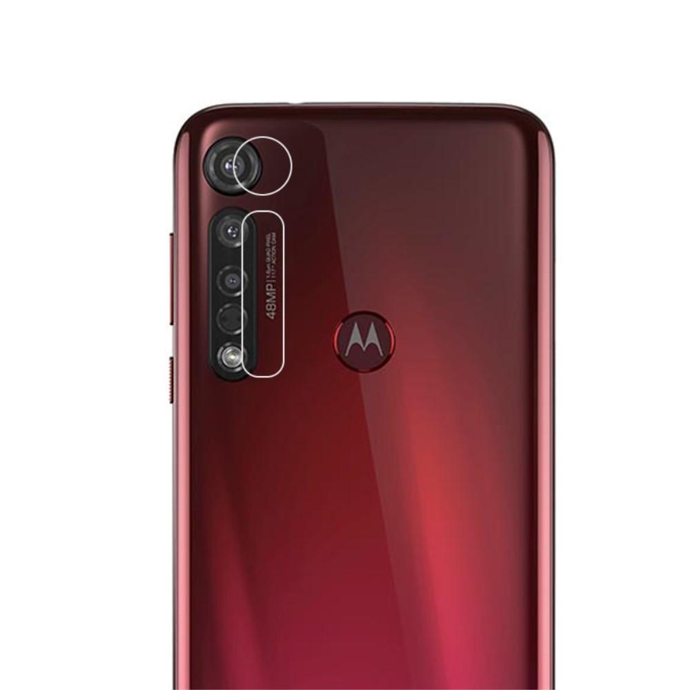 Herdet Glass Linsebeskyttelse Motorola Moto G8 Plus