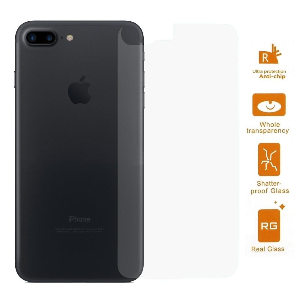 Herdet Glass 0.3mm Bakside iPhone 7 Plus/8 Plus