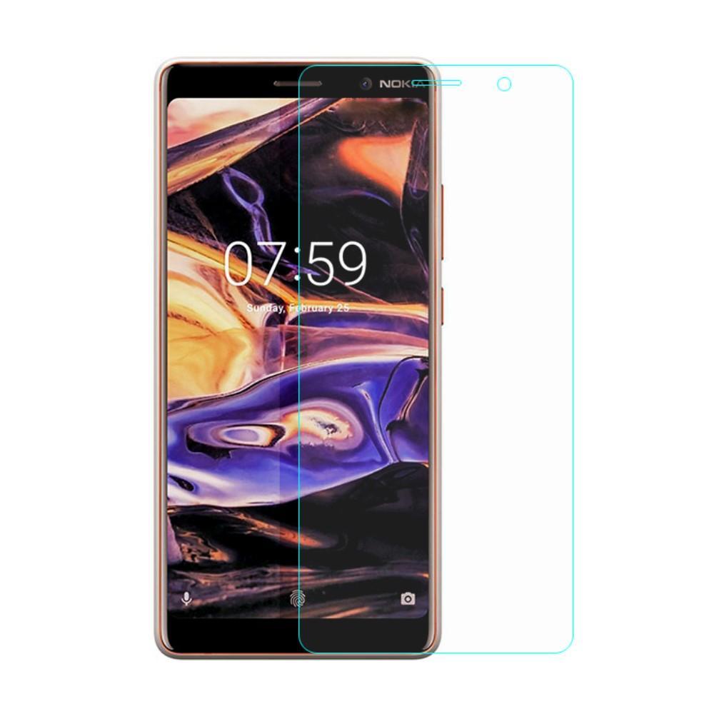 Herdet Glass 0.3mm Skjermbeskytter Nokia 7 Plus
