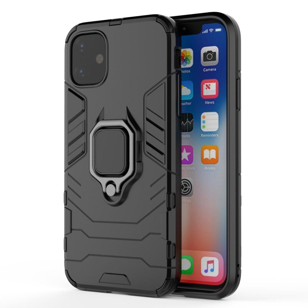Hybriddeksel Tech Ring Apple iPhone 11 svart