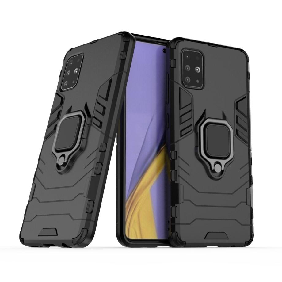 Hybriddeksel Tech Ring Samsung Galaxy A51 svart