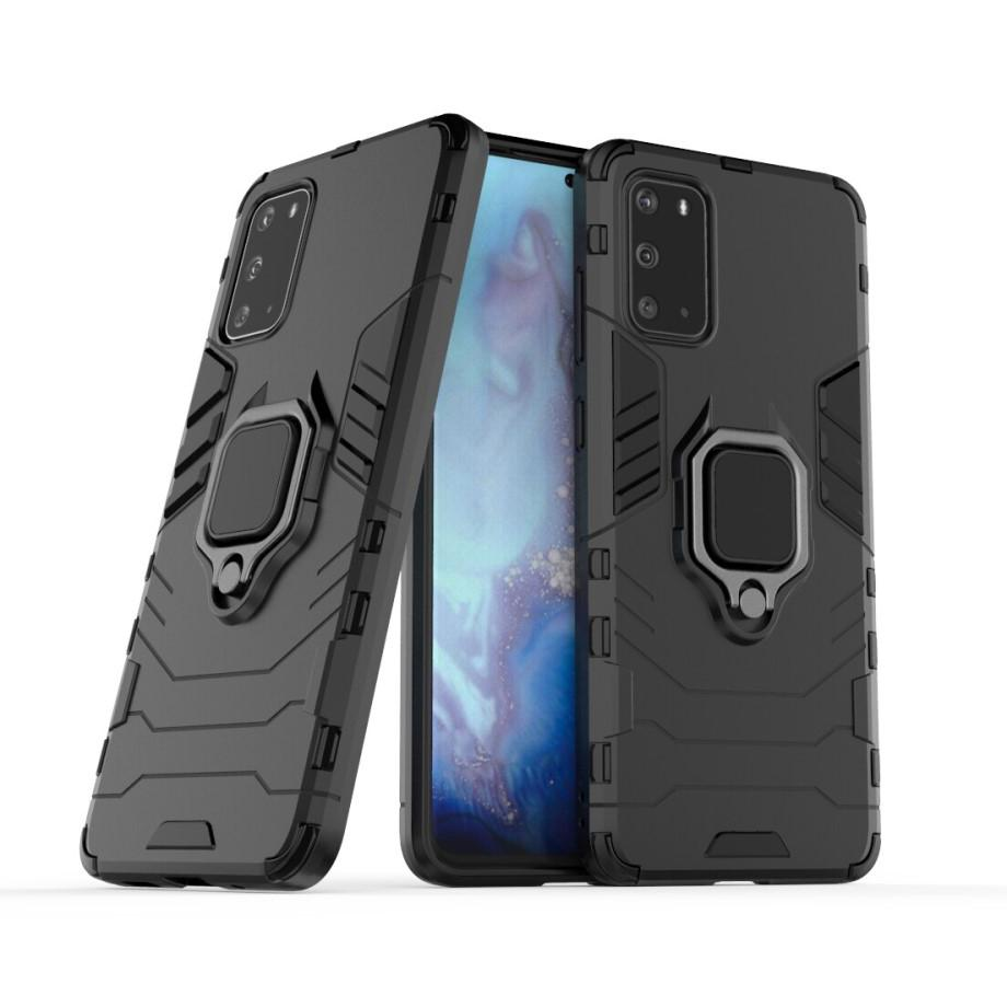 Hybriddeksel Tech Ring Samsung Galaxy S20 Ultra svart