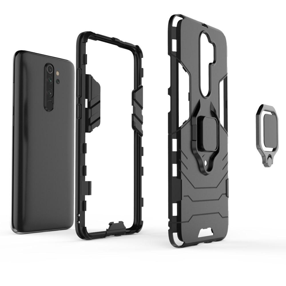 Hybriddeksel Tech Ring Xiaomi Redmi Note 8 Pro svart