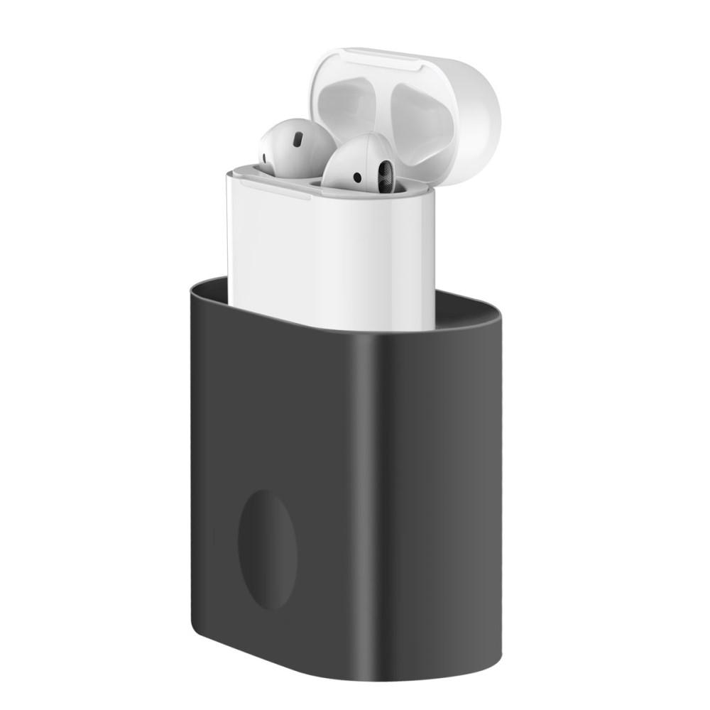 Ladestativ Apple AirPods svart