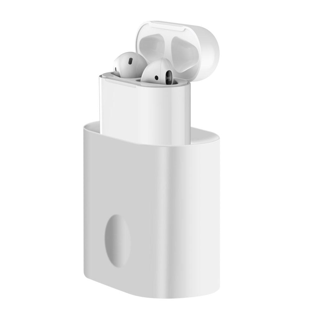 Ladestativ Apple AirPods hvit
