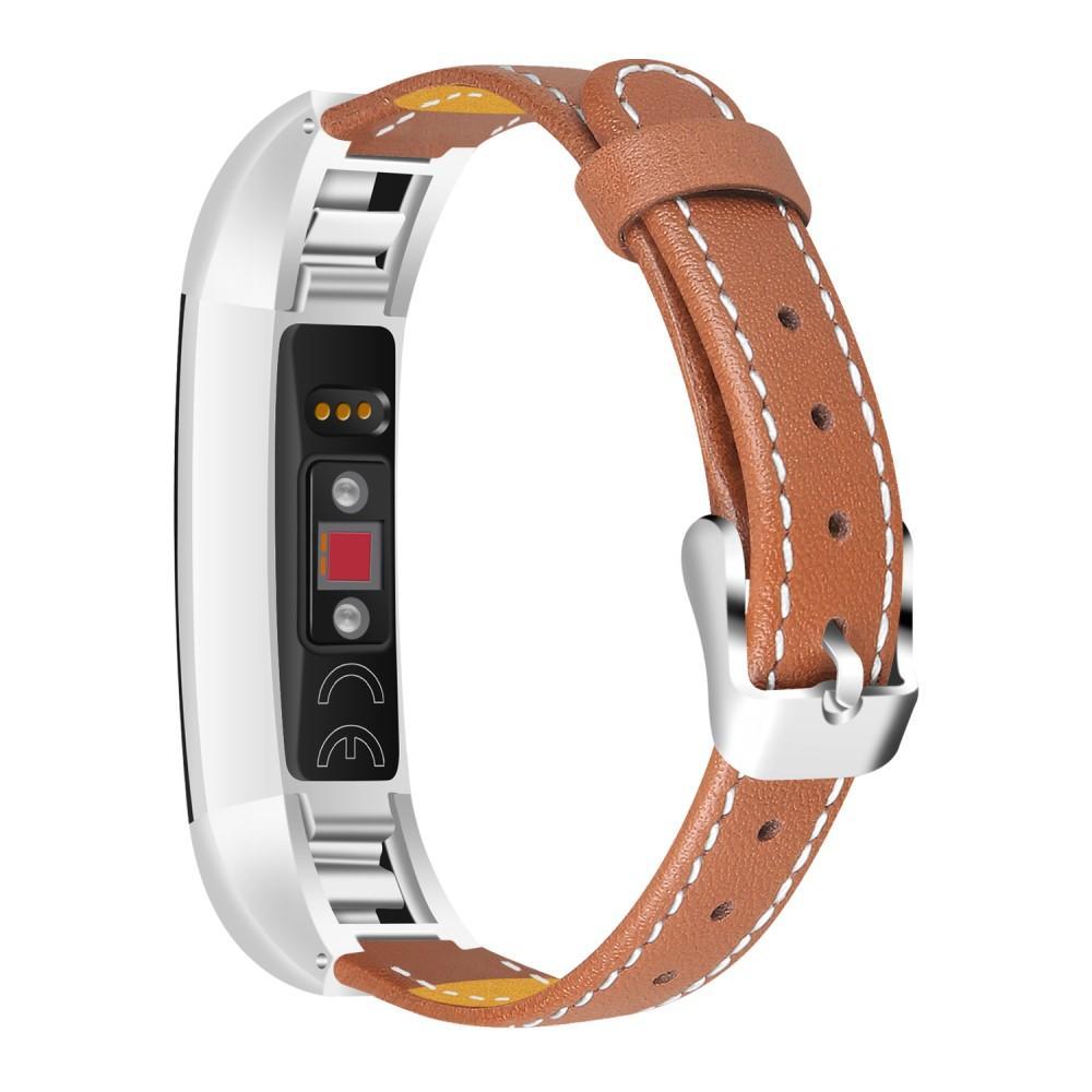 Lærarmbånd Fitbit Alta/Alta HR brun