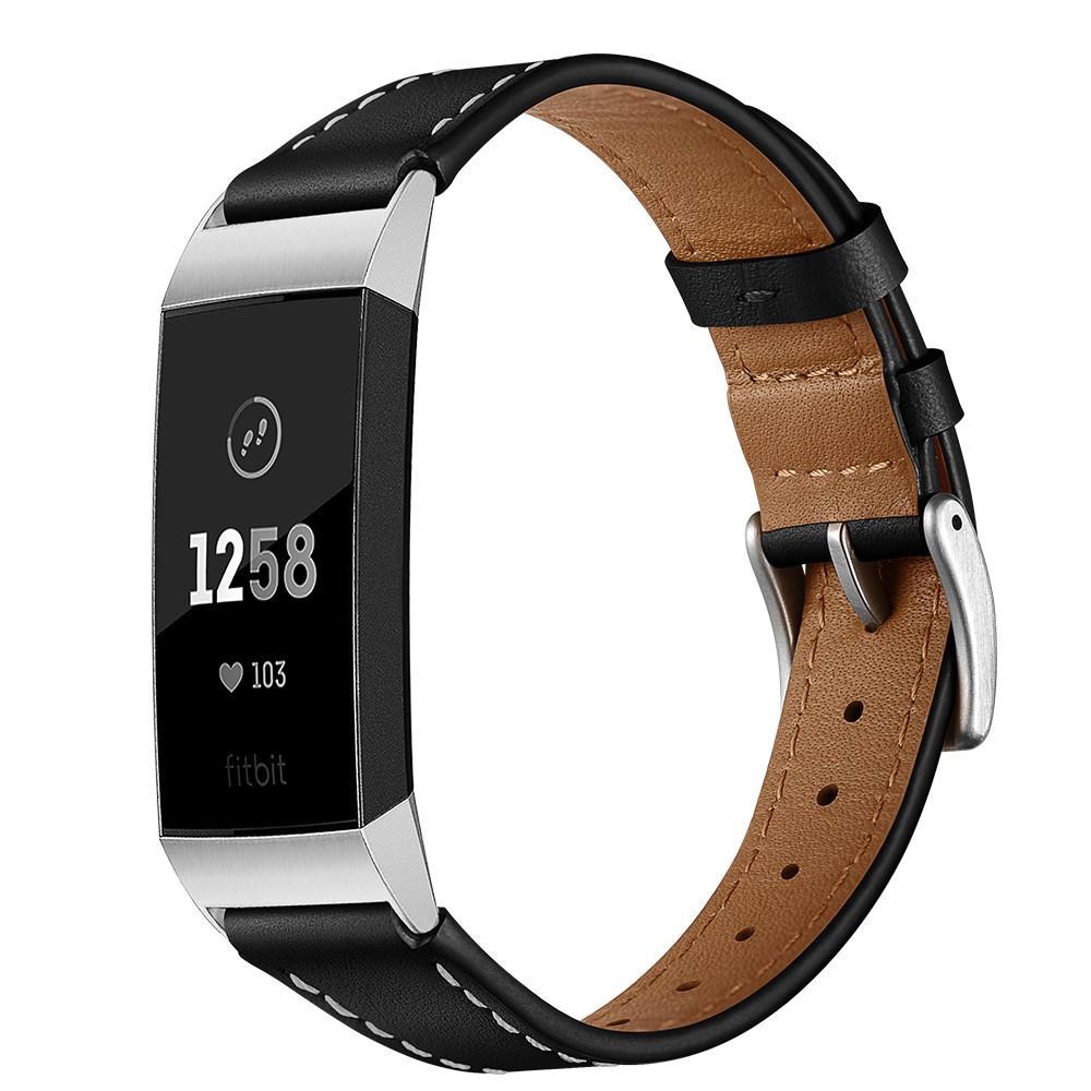 Lærarmbånd Fitbit Charge 3/4 svart