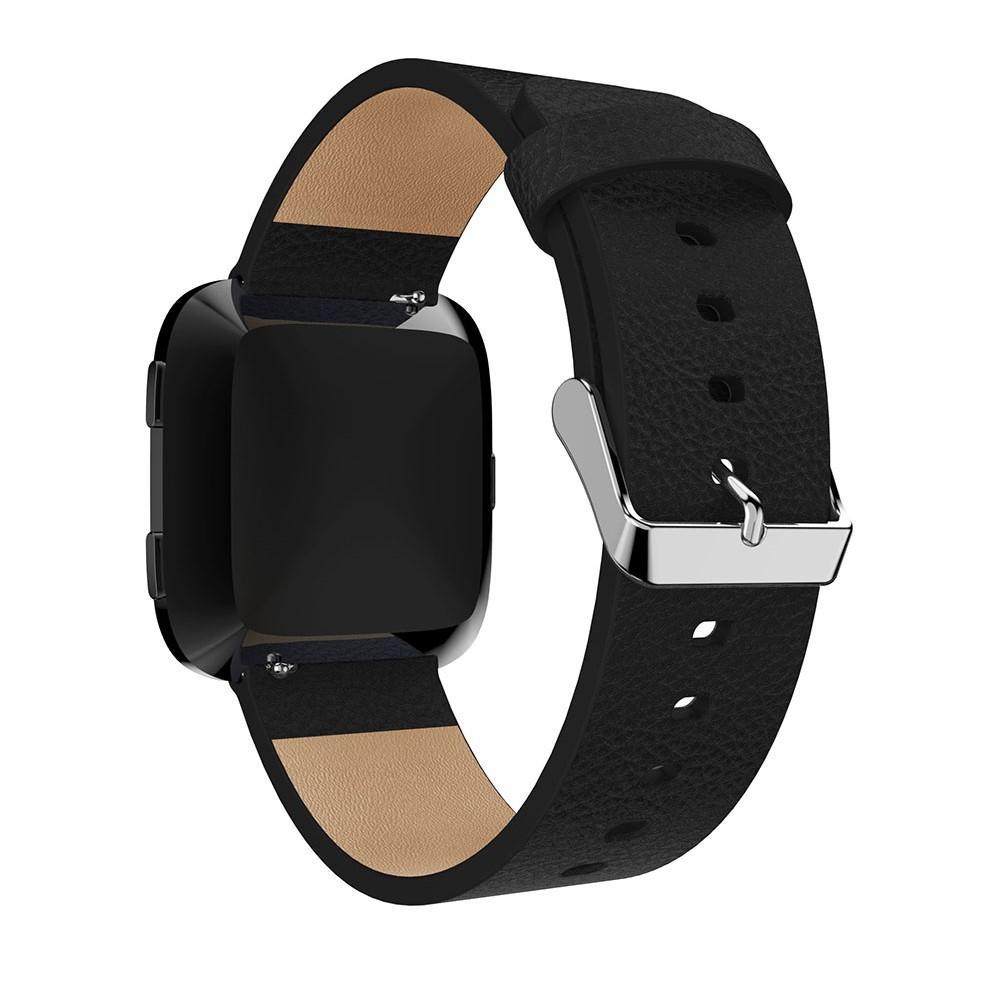 Lærarmbånd Fitbit Versa/Versa 2 svart
